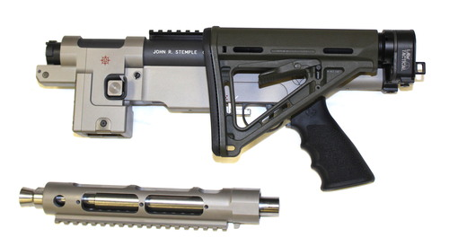 Shown with Law Tactical Side Folding Option