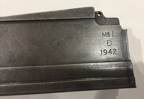 14: Mk1 BREN Receiver Center Section - 1942 Enfield