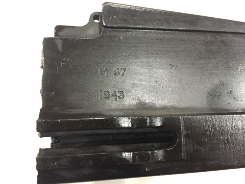 14: Mk2 BREN Receiver Center Section - M67 Daimler 1943