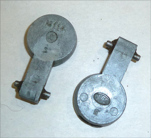 22: No1 & No4 Trap, butt plate (alloy) with pin