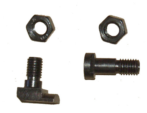 MG-42/53/3 Short Recoil/Recuperator Screw Set: Front Post, Rear Post and 2 nuts (new production)