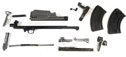 Bren Parts Lot with Mk2 BREN Receiver Center Section - INGLIS 1944