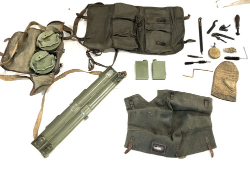 Ultimate MG42 Gunner Kit with tools, drums, action cover, and barrel carrier