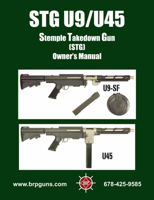 U9SF & U45 Manual - (hard copy 36 pages)