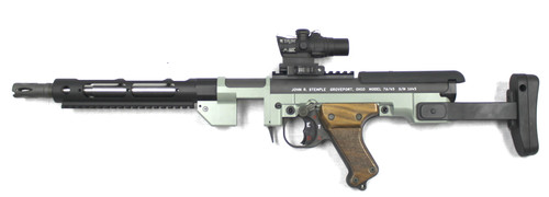 Custom Shop: Stemple Takedown Gun (STG) 34k Green with ACOG
