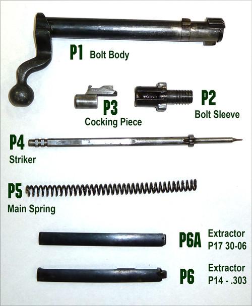 45: P14/17 Bolt Sleeve/Plug - Winchester
