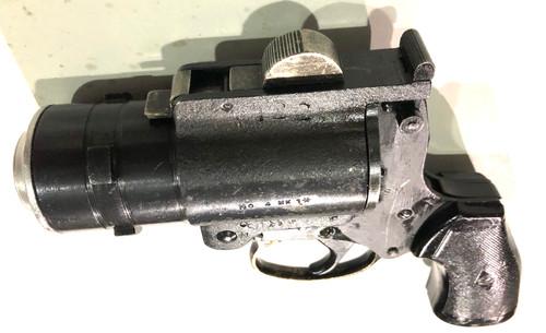 Webley & Scott No. 4 Mk. I* with Original 26.5 Conversion LOT 6