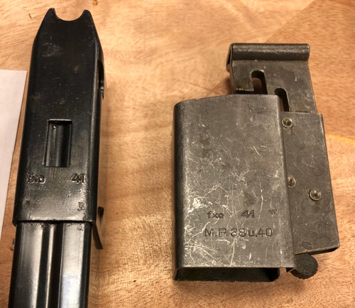 Early Magazine and Loader lot - Haenel 1941(lot 200729-03)
