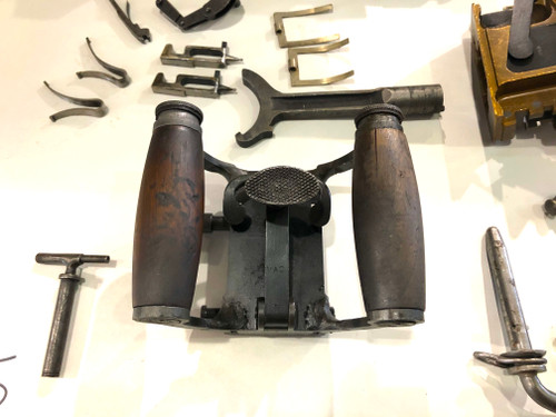 LOT 201009-05: Vickers MMG Rear Crosspiece - Grip Assembly (SHIPS Free)