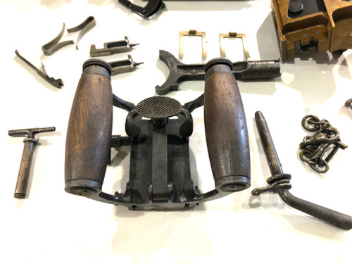LOT 201009-06: Vickers MMG Rear Crosspiece - Grip Assembly (SHIPS Free)