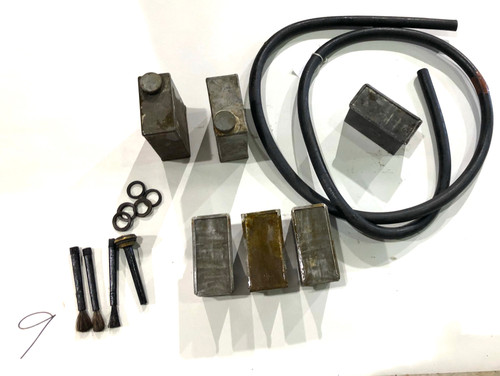 LOT 201009-08: Vickers Hose, Tins, and Bottles