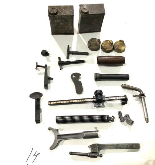 LOT 201009-14: Vickers Parts Lot