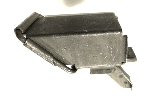 M2HB Link Chute - Angled Square Type - Parkerized - Excellent Condition