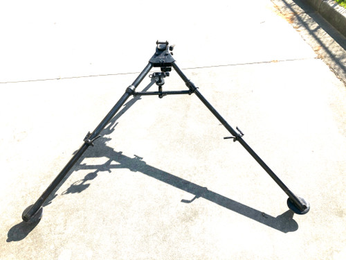 "WW2 dated M3 Tripod with Pintle and T&E ""Central Steel Tube 1944"" SHIPS FREE to lower 48"