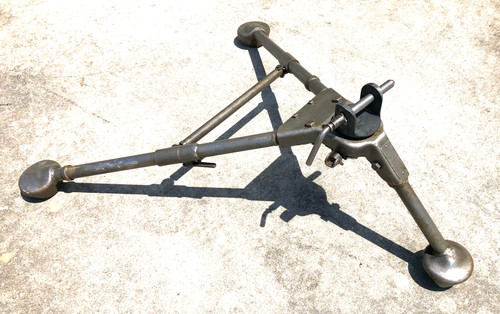"WW2 dated M2 Tripod with original Pintle  ""APPLIANCE MFG CO 1945"" SHIPS FREE to lower 48"