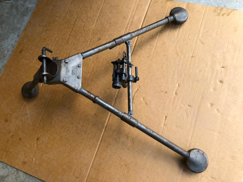 "WW2 dated M2 Tripod with original Pintle and T&E ""EVANS PROD CO 1944"" SHIPS FREE to lower 48"