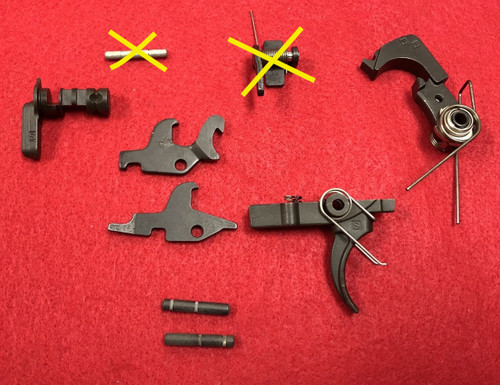 M16A2 3-Round Burst Fire Control Kit (Auto Sear NOT Included)