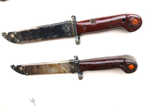 Lot 4:  4 x Low Grade Romanian AK-47 AKM Bayonets