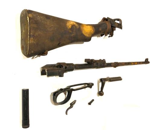 No1 Mk III Demilled Drill Purpose Barreled Action - Broken Brass Butt Plate