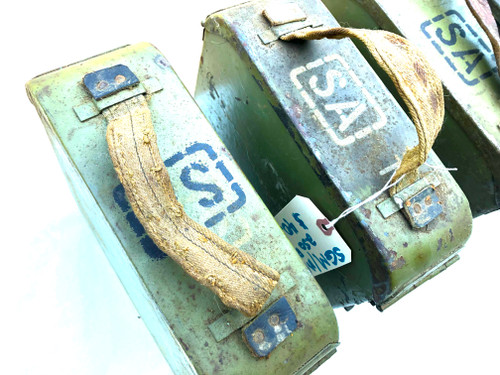 Lot 21:  4 Finnish Maxim Belts and Boxes