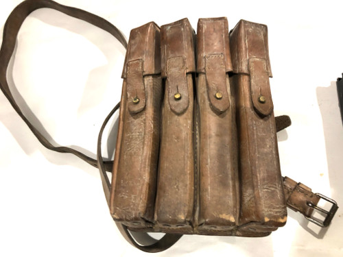 Lot 2: 4 x MP34 Magazines with Yugo M49 Mag Pouch