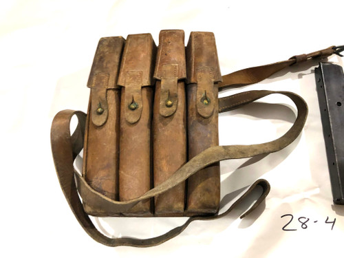 Lot 4: 4 x MP34 Magazines with Yugo M49 Mag Pouch