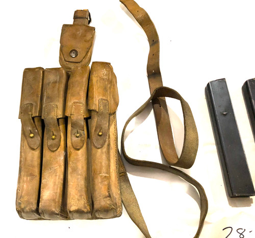 Lot 5: 4 x MP34 Magazines with Yugo M49 Mag Pouch