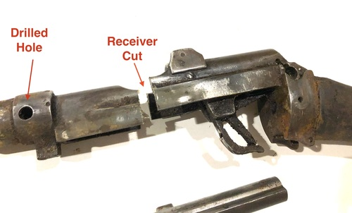 No1 Mk III Demilled Drill Purpose Barreled Action - British Markings - Good Brass Butt Plate