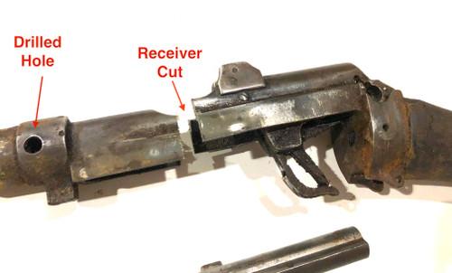 No1 Mk III Demilled Drill Purpose Barreled Action - Australian Markings - Good Brass Butt Plate