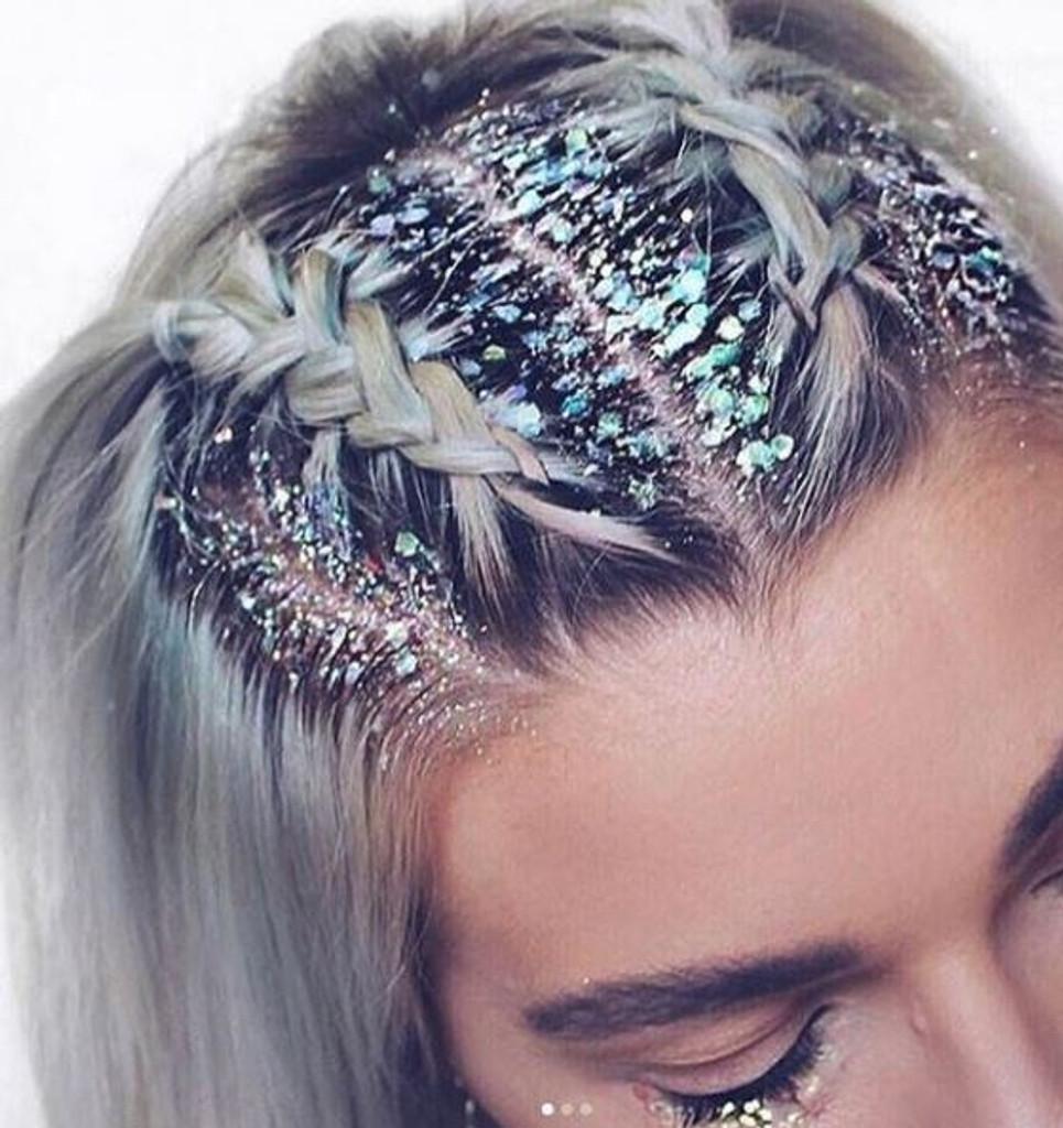 Iridescent Mermaid, Chunky Glitter