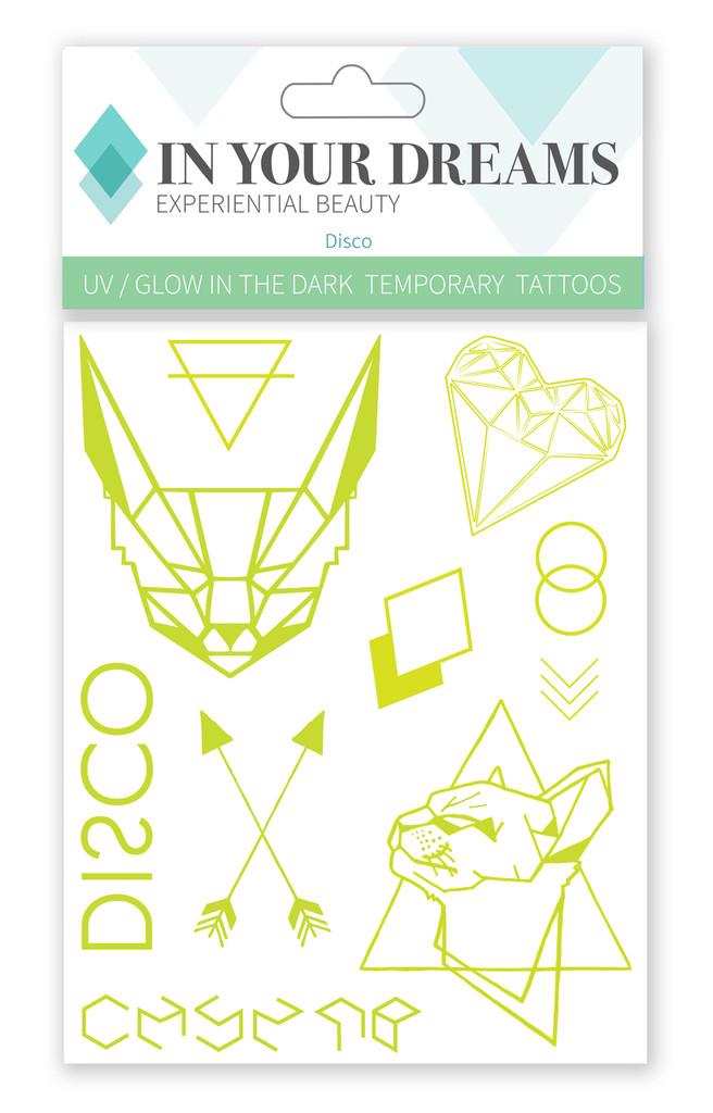 Disco | Temporary Tattoos | UV Tattoos
