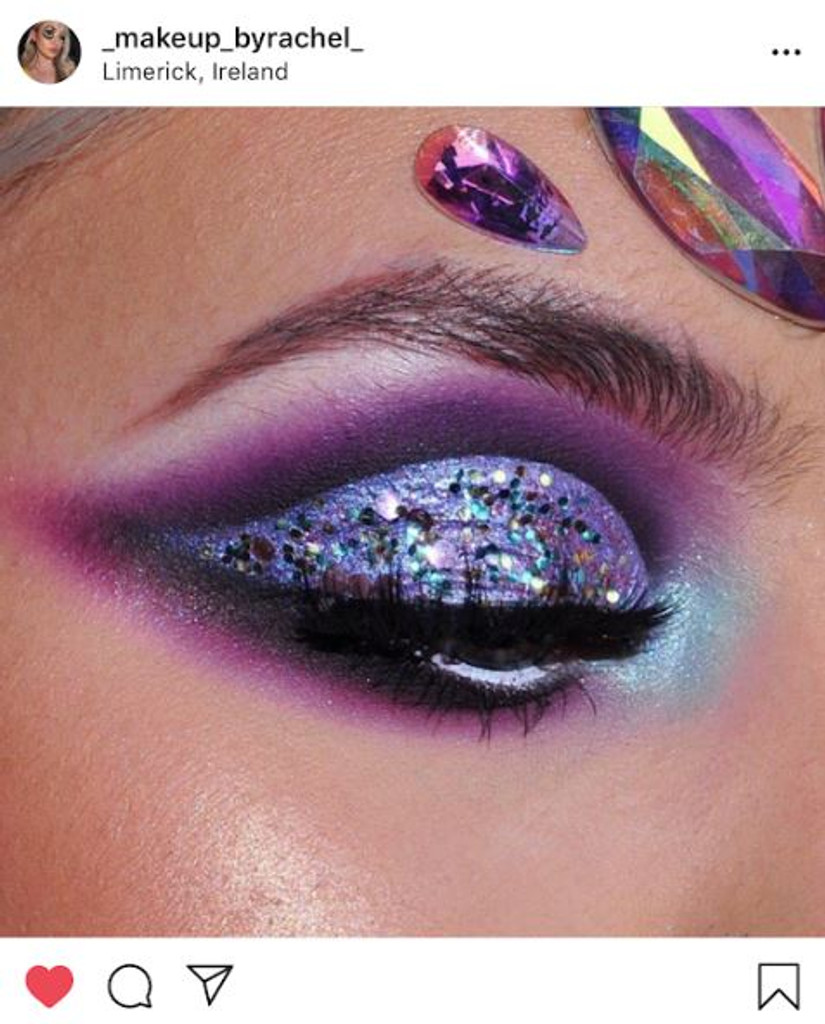 Cosmic Purple Unicorn | Bio Glitter | Biodegradable Glitter | Makeupbyrachel