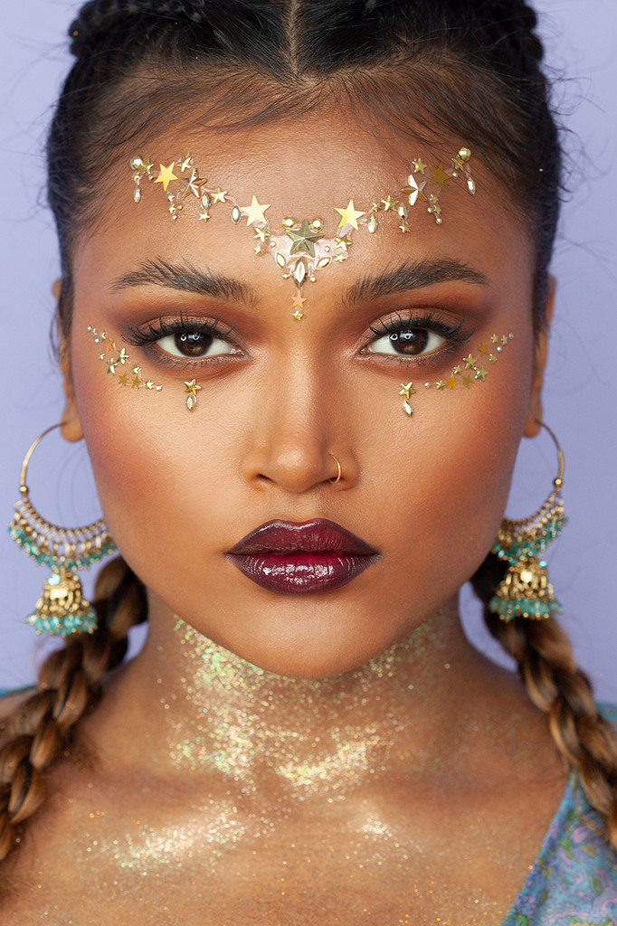 Gold Astra | All in One Face Gems & Eye Jewels |