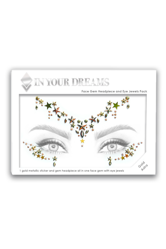 Gold Astra   All in One Face Gems & Eye Jewels   Packaging