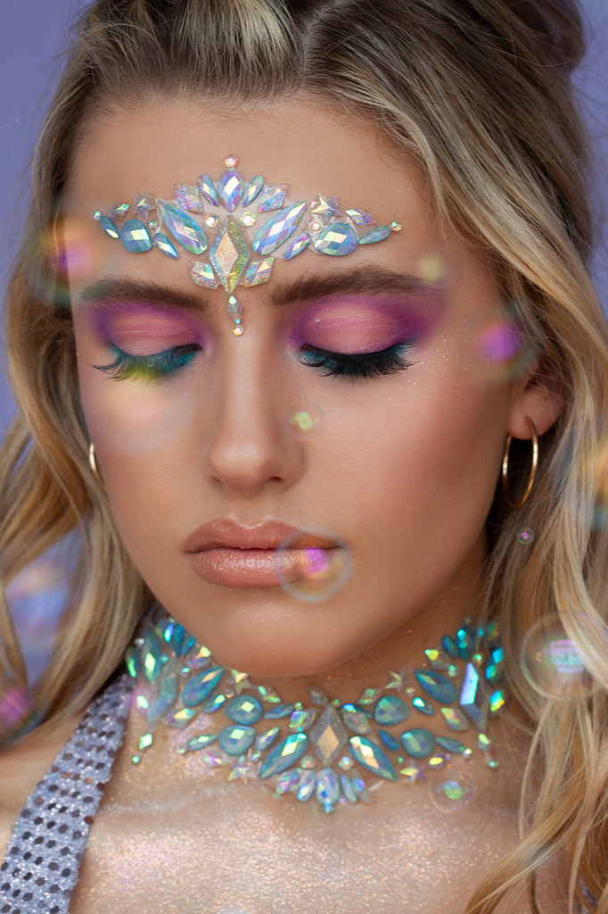 Pastel Lunar | All In One Face Jewels | Face Gems |