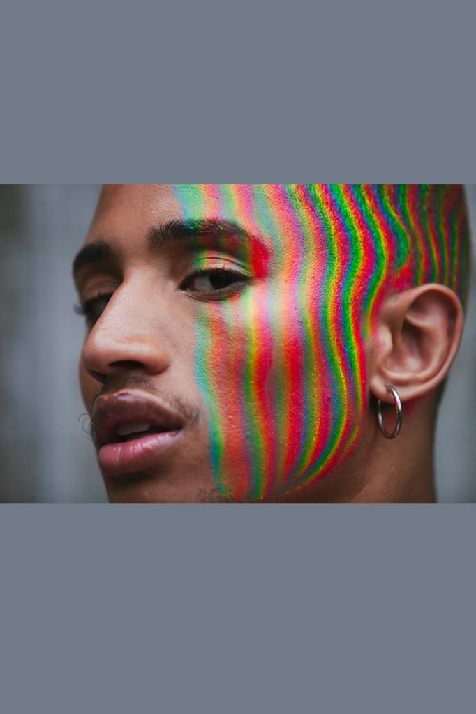 Raining Rainbow, Face + Body Paint Stick