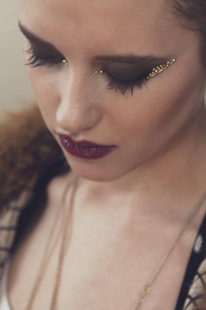 Gold Sphinx, Eye Jewels