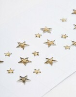 Gold Zorya | Face Gems | Star Face Gems | Face Jewels