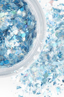 Blue Frosted Fairy | Chunky Cosmetic Glitter | Festival Glitter