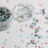 Rainbow Deity Star Glitter