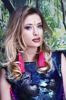 Goddess Cluster, Face Jewels - LOMs shoot