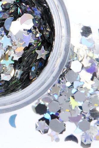 Silver Selene | Chunky Cosmetic Glitter | Festival Glitter