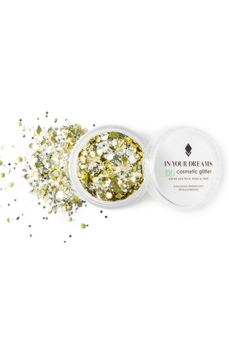 Golden Mirage Biodegradable Glitter