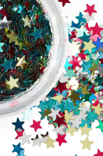 Rainbow Deity | Star Glitter | Festival Glitter
