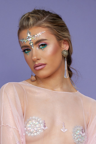 Opal Venus | All in One Body Jewels & Holographic Sticker