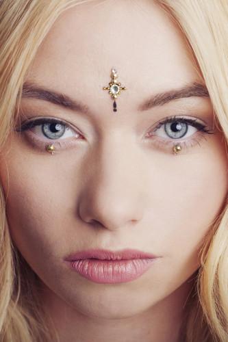 Countess Cluster, Face Jewel