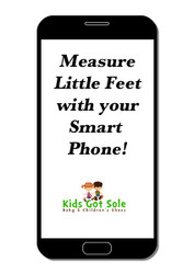 Measure Those Little Feet with Your Smart Phone