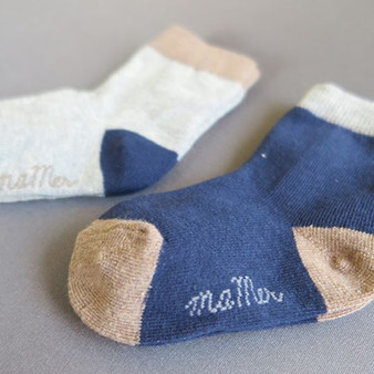 Ma Mer 2 Pack Socks Warmth 0 to 1 years