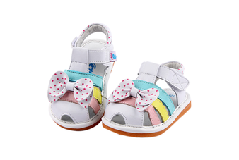 "Pre Order Freycoo ""Freya"" White Leather Sandals"