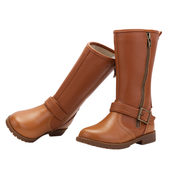 """TS """"Lacie"""" Caramel Leather Boots Aus 9.5 only"""